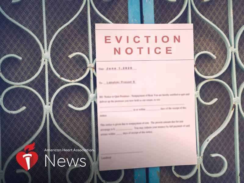 AHA news: looming wave of evictions, housing instability pose threat to health