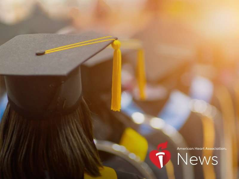 AHA news: more school, less heart disease? researchers keep finding evidence