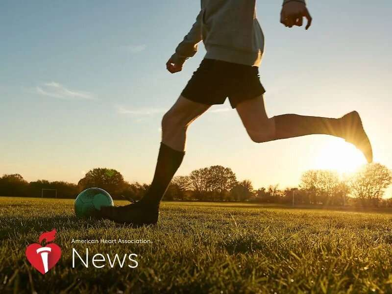 AHA news: most of the nation's teens aren't getting enough exercise