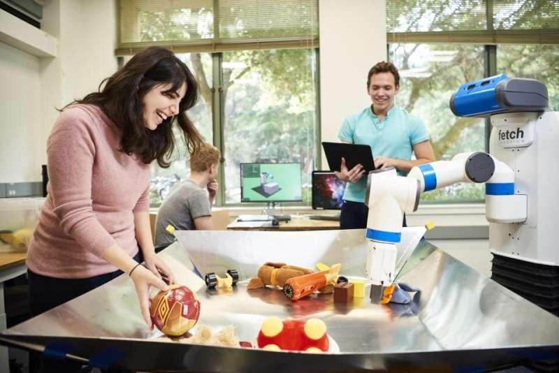 AI improves control of robot arms