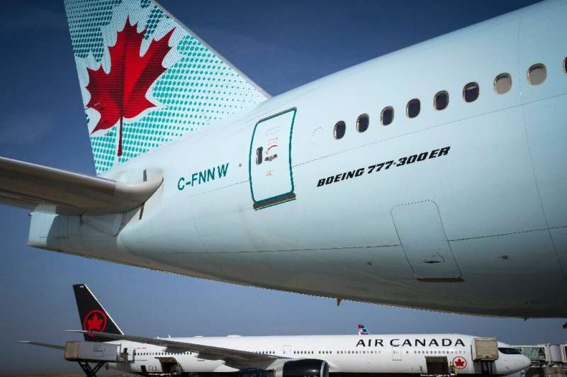 Air Canada has suspended most of its international flights due to the coronavirus