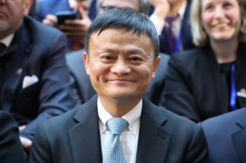 Alibaba founder Jack Ma once again topped the list