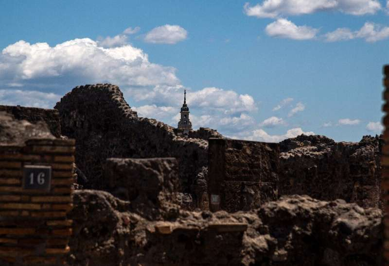 All that remains: Pompeii today
