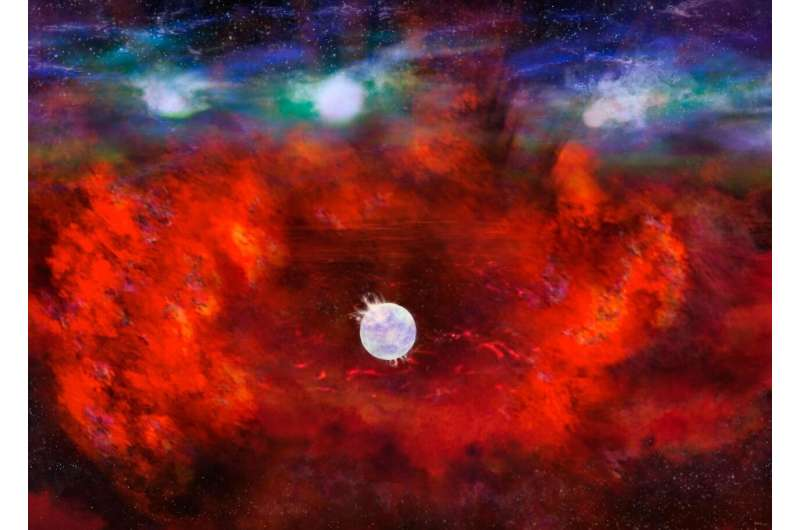 ALMA finds possible sign of neutron star in supernova 1987A