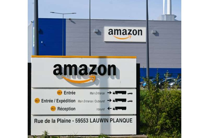 Amazon shut down its French warehouses after a court said it could deliver only food, hygiene or medical products pending a revi