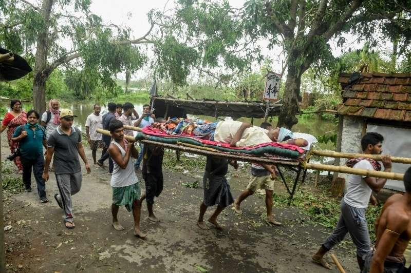 Amphan left many injured