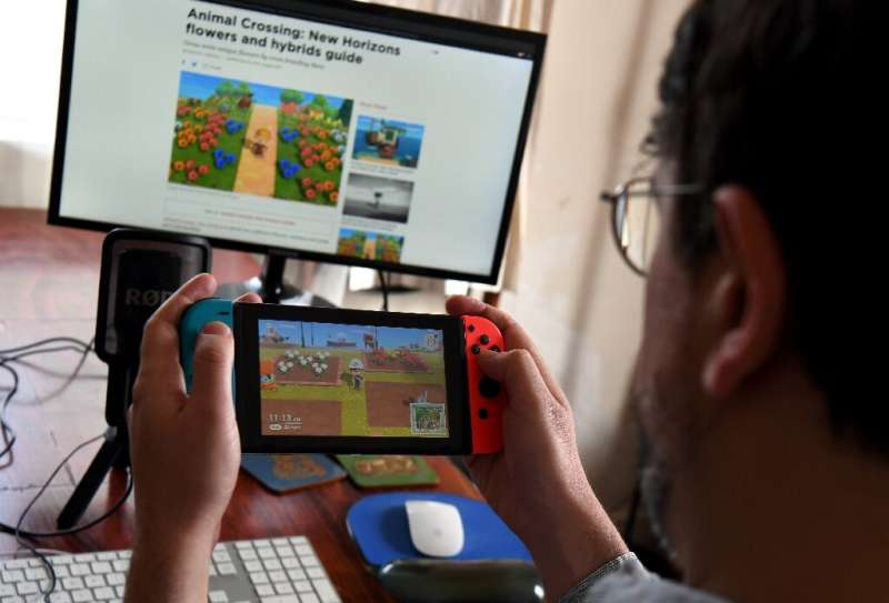 Animal Crossing has become a popular game title during the coronavirus lockdowns