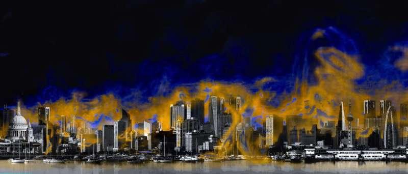 A potential explanation for urban smog