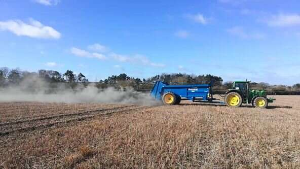 Applying rock dust to croplands could absorb up to 2 billion tonnes of CO2 from the atmosphere