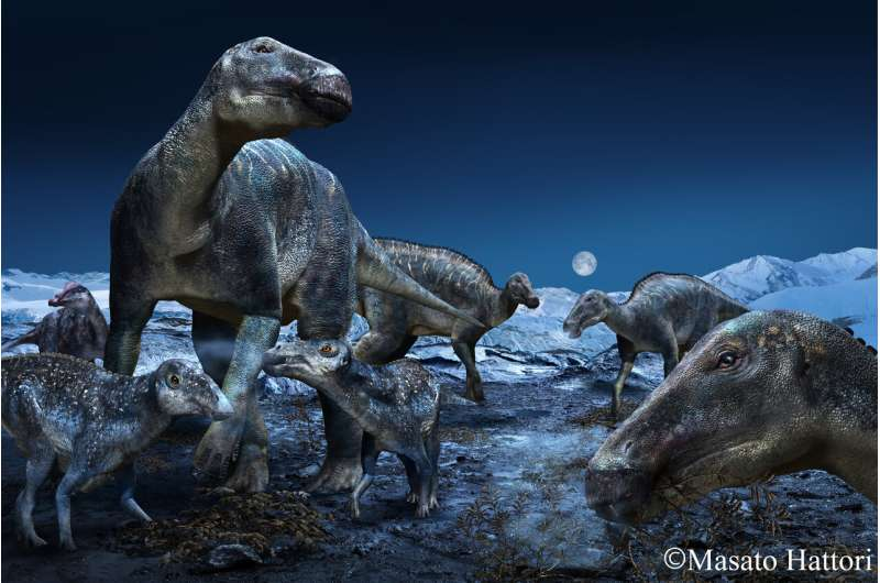 Arctic Edmontosaurus lives again -- a new look at the 'caribou of the Cretaceous'