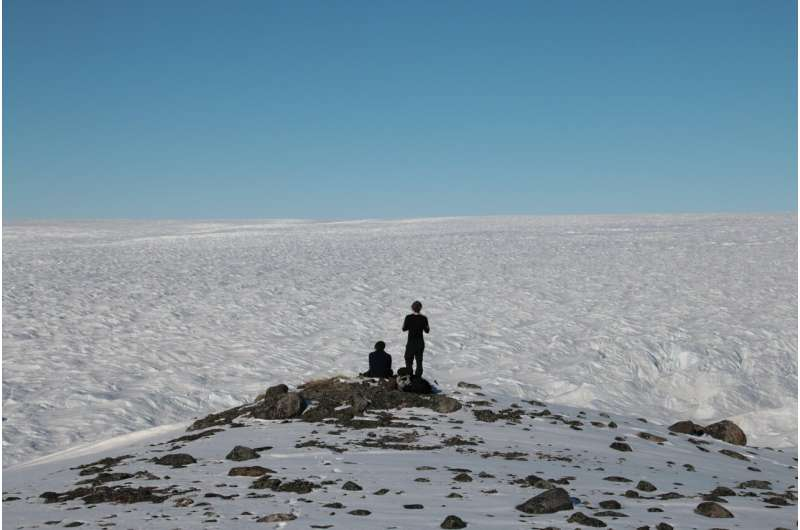 A rich source of nutrients under the Earth's ice sheets