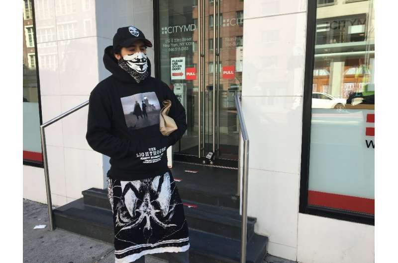 Ariel Krupnik, 32, visited a branch of the CityMD medical chain in Manhattan to have a coronavirus antibody blood test, to see i