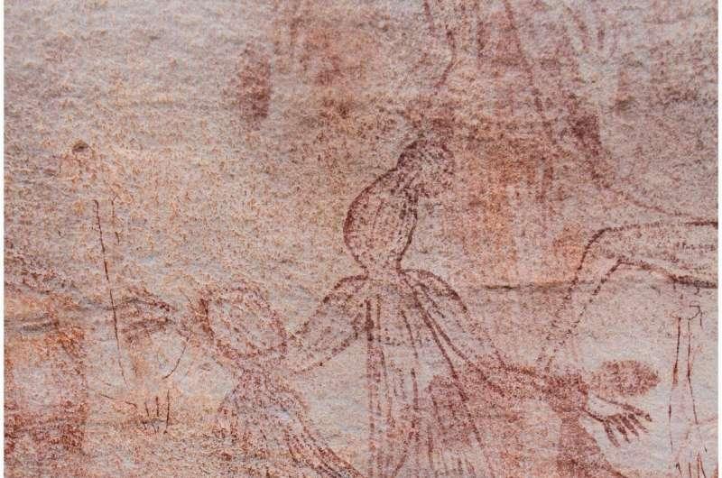 Arnhem Land Maliwawa rock art opens window to past