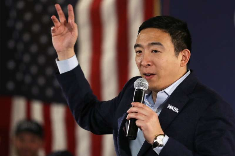 As part of his presidential campaign, entrepreneur Andrew Yang endorsed smartphone voting