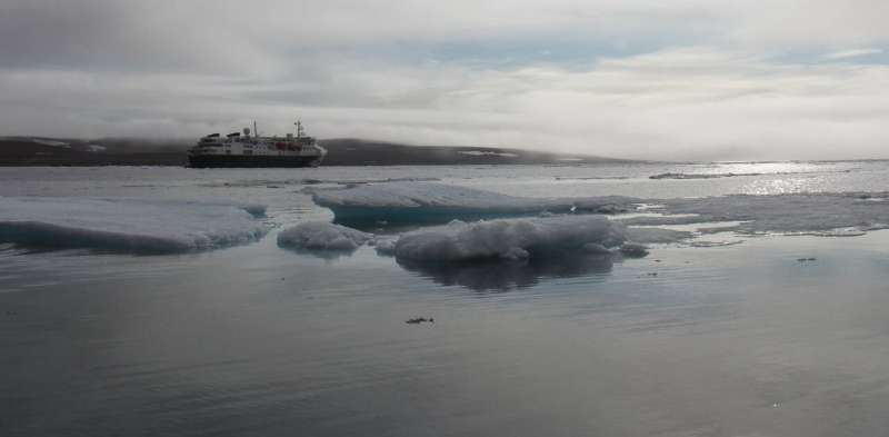 As ships move north with climate change, their noise scares Arctic cod away