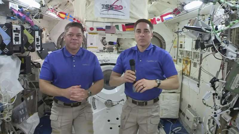 Astronaut says losing mirror on spacewalk was 'real bummer'