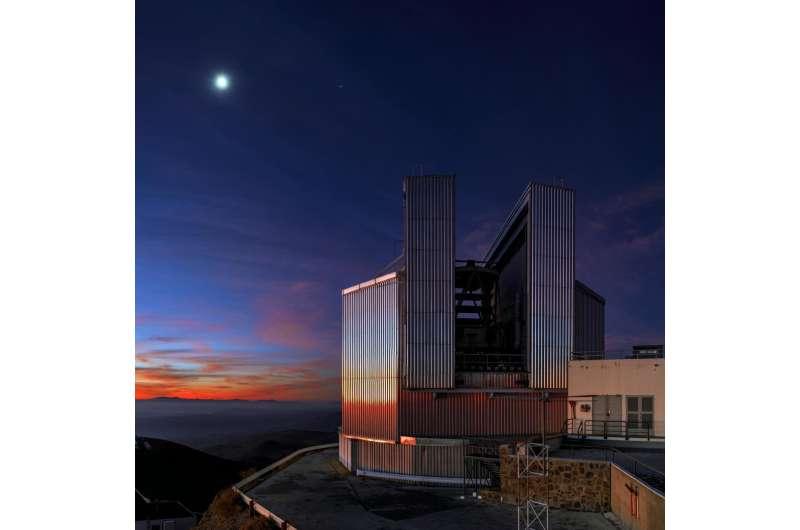 Astronomical instrument hunts for ancient metal