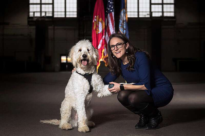As veterans wait for service dogs, this researcher is giving them a voice through science