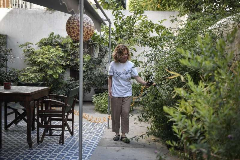 Athens Airbnb host Romina Tsitou says she may have to put her two apartments in Koukaki district up for long-term rental if the