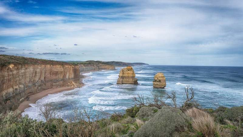 Australia's coastline