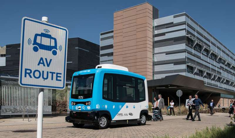 """Automated mobility district """"digital twin"""" provides insights for urban transportation systems"""