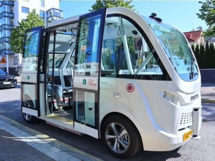 Autonomous on-demand buses underway in the streets of Europe