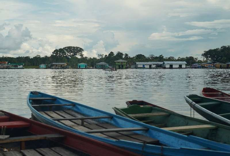 A view of Carauari, a town where residents fear the reach and spread of the coronavirus COVID-19 pandemic in the Amazon in Brazi