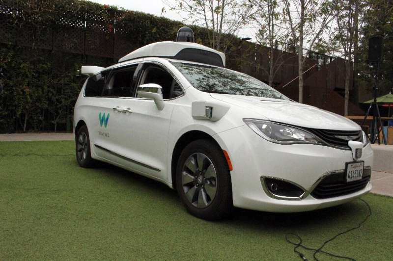 A Waymo self-driving car. The allegations against Levandowski came out when Waymo accused Uber of stealing trade secrets