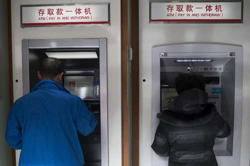 Banks in China are using ultraviolet light or high temperatures to disinfect yuan bills