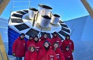 BECEP array installed at South Pole
