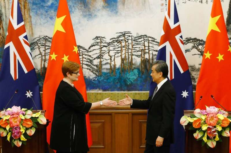 Beijing and Canberra have also sparred over access to natural resources, maritime claims and the use of Chinese state-backed tec