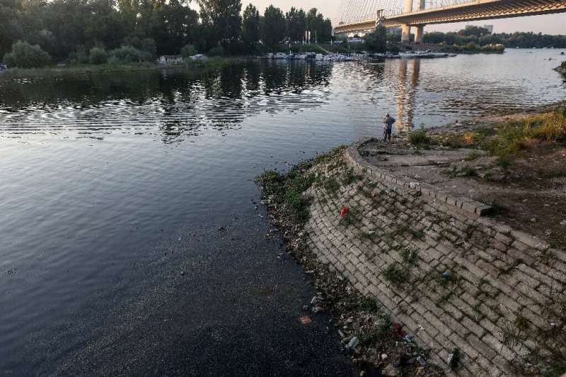 Belgrade's deputy mayor pledged five years ago that a sewage system for the capital would be finished by 2020