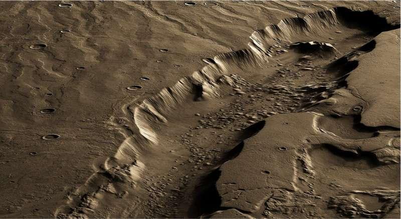 Best region for life on Mars was far below surface
