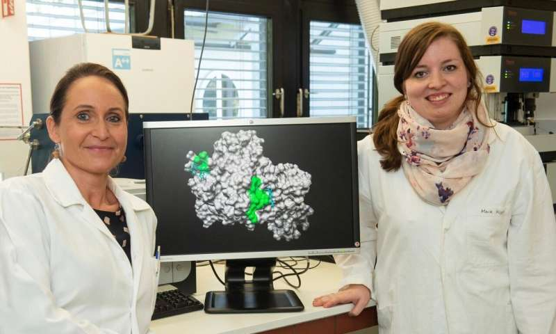 Blood breakdown product commandeers important enzyme