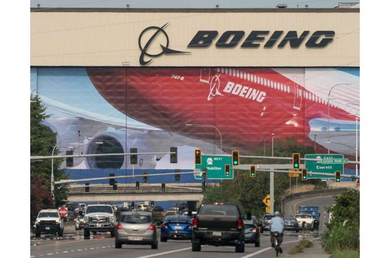 Boeing will shift some 787 plane production from its Everett, Washington, site pictured here, to its South Carolina factory; Eve
