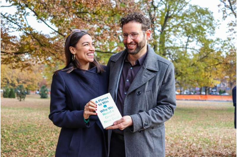 Book describes four key facets of the Green New Deal and why they could become a reality
