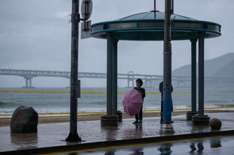 Both Koreas are on high alert as Typhoon Maysak approaches