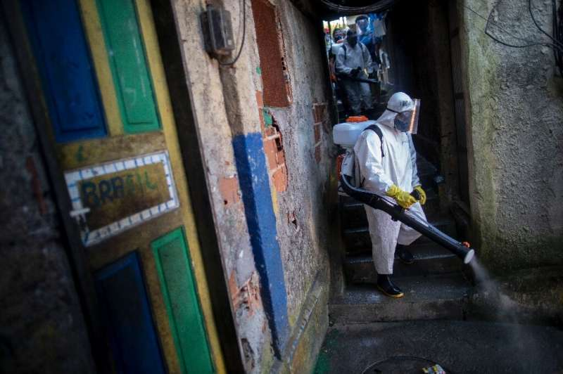 Brazil is emerging as a new virus hotspot in Latin America