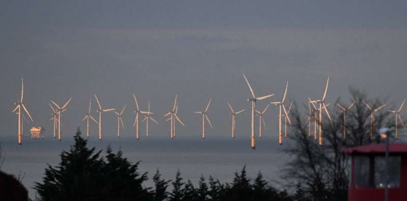 Britain intends to rely heavily on offshore wind power as part of its efforts to reach net zero carbon emissions by 2050 in orde