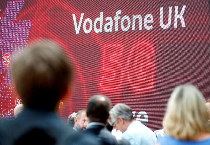 British telecoms giant Vodafone said government and EU restrictions on Chinese peer Huawei over 5G will cost it 200 million euro