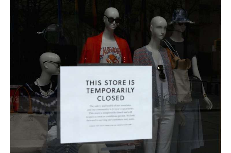 Businesses built around getting shoppers to visit their stores were among the hardest hit in April retail sales data