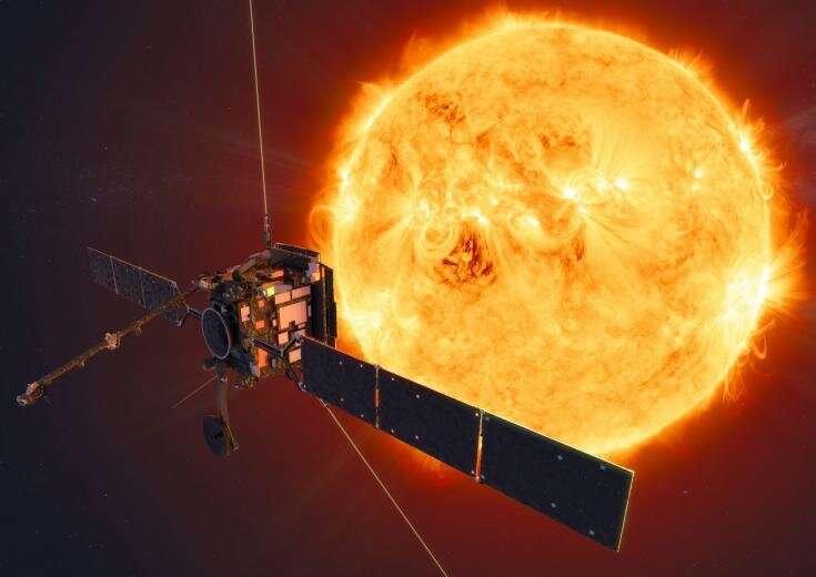 Camera provides view into sun's polar regions
