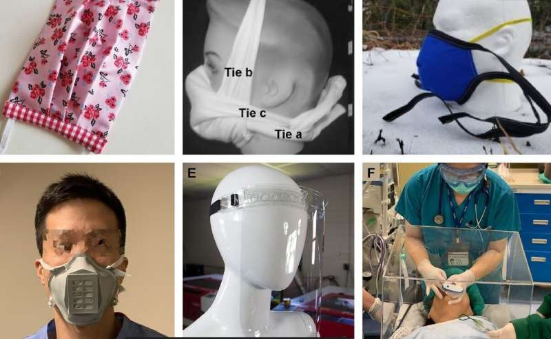 Can DIY facemasks and 3-D printed parts help fight COVID-19?
