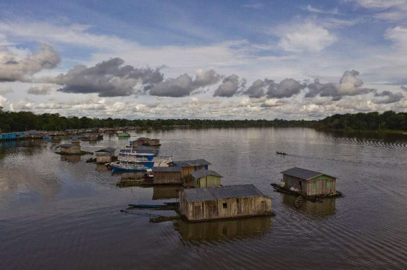 Carauari, an Amazonian town where residents fear the reach and spread of the coronavirus COVID-19 pandemic in the rainforest in