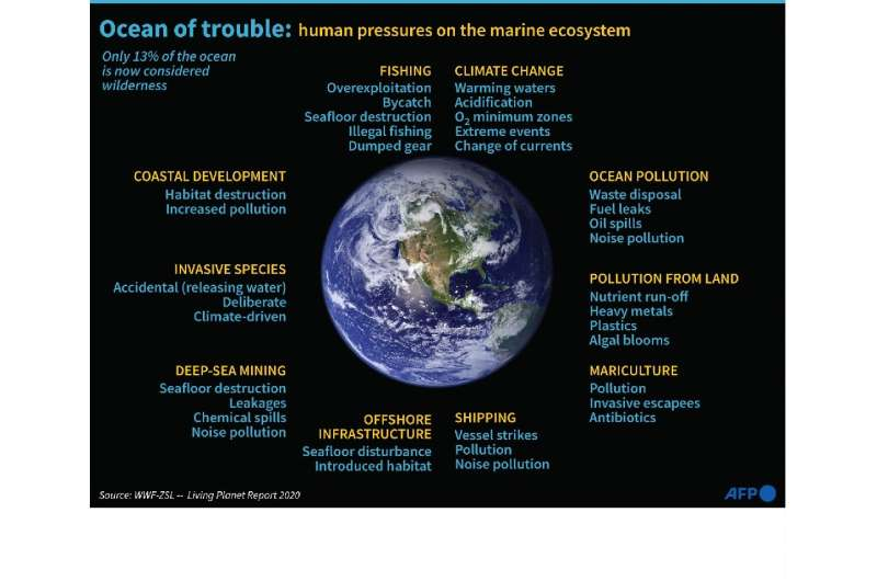 Ccean of trouble