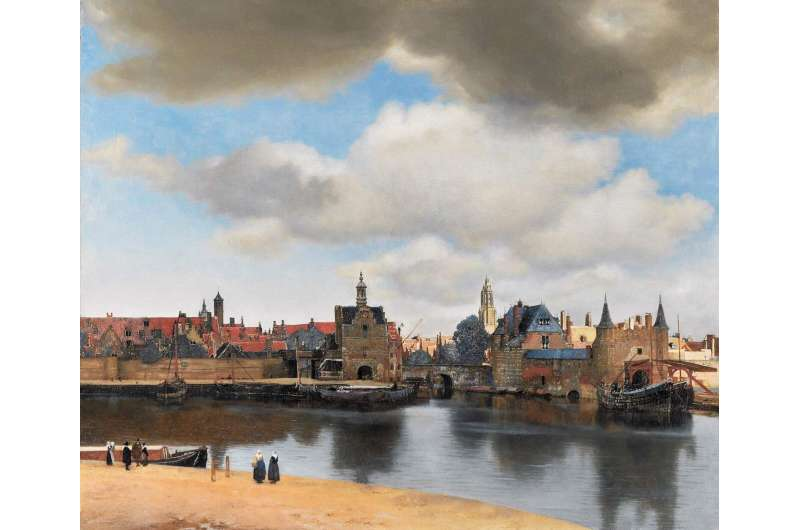 """'Celestial sleuth' sheds new light on vermeer's masterpiece """"View of Delft"""""""