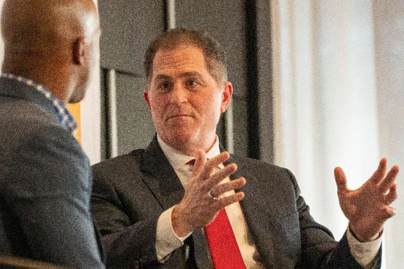 CEO and founder of Dell Technologies, Michael Dell (R, pictured 2019), has been seeking to re-energize the firm, which fell behi