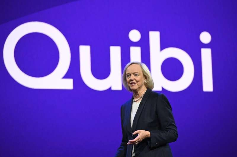 """CEO Meg Whitman says short-form video streaming service for mobile Quibi is launching in """"unprecedented"""" times"""
