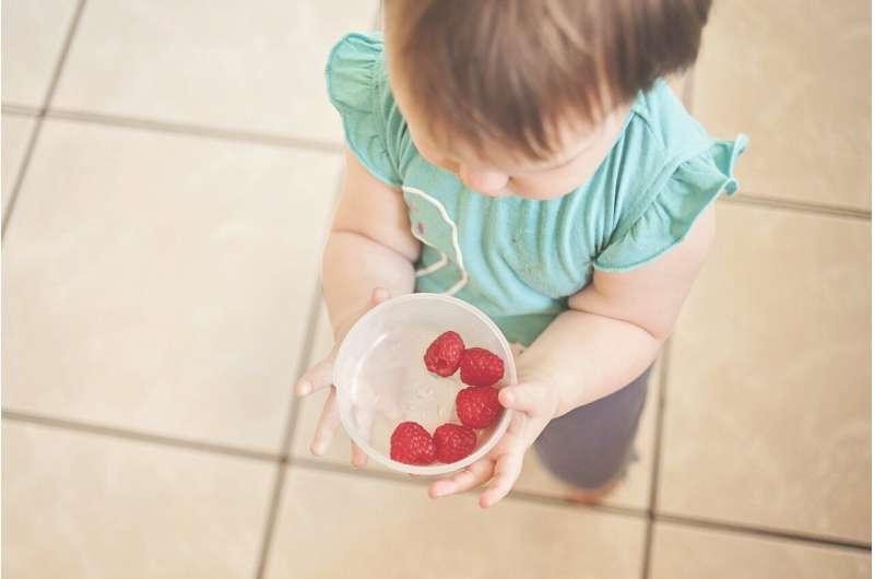 child fruit