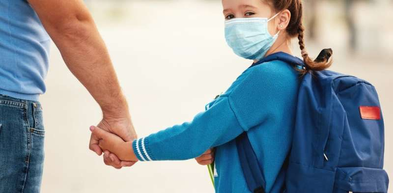 Children's commutes to school are complicated by the coronavirus pandemic